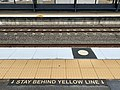 Tactile Ground Surface Indicators at Corinda railway station at the platform.jpg