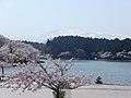 Takeshimagata and Mt.Chokai 20180421.jpg
