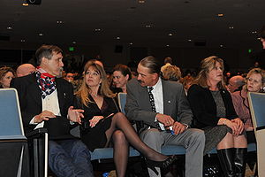Taking Chance - Family members of Chance Phelps attend the Virginia premiere in February 2009