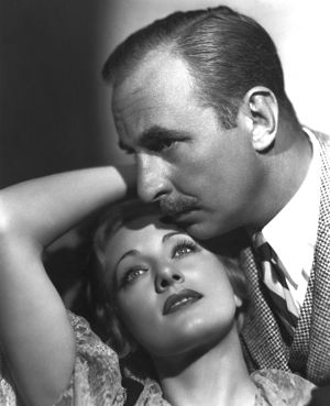 Crime and Punishment (1935 American film) - Film still with Tala Birell and Douglass Dumbrille