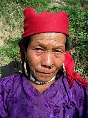 Tamang people - A Tamang Woman