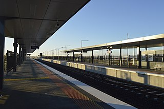 Tarneit railway station railway station in Tarneit, Melbourne, Victoria, Australia