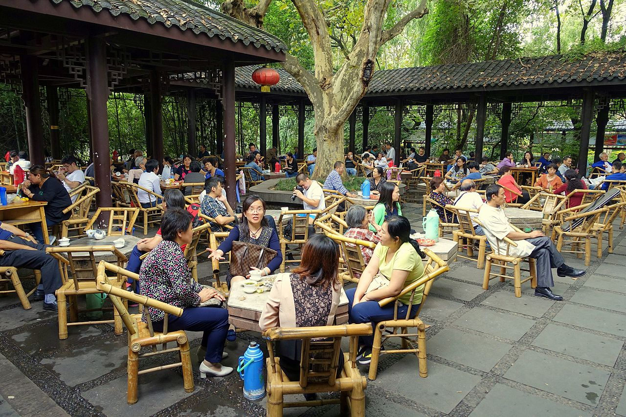 Image result for teahouse peoples park chengdu