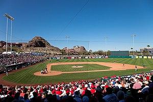 Tempe Diablo Stadium - Image: Tempe Diablo Stadium
