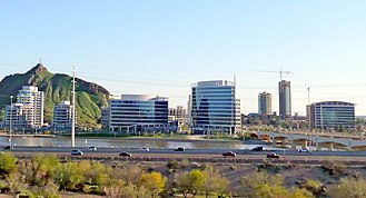 Tempe, Arizona - Image: Tempeskyline 3