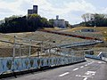 Temporary passage to the north gate of Osaka University of Foreign Studies.JPG