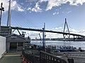 Tempozan Bridge and Sakurajima Ferry Terminal.jpg