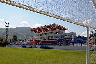 Tengiz Burjanadze Stadium - Image: Tengiz Burjanadze Stadium in Gori, Georgia