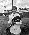 Tennis te Santpoort, de winnares finale damesenkel Pat Walkden (Rhodesie), Bestanddeelnr 918-0274.jpg