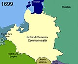 Territorial changes of Poland 1699