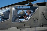 Texas Military Forces honors cancer fighter at honorary enlistment ceremony 150327-Z-FG822-044.jpg