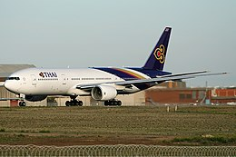 Thai Airways International Boeing 777-200ER MEL Nazarinia.jpg
