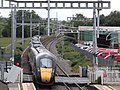 Thatcham - GWR 800028 Bedwyn service departing.JPG