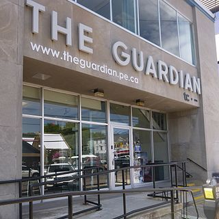 <i>The Guardian</i> (Charlottetown) daily newspaper published in Charlottetown, Prince Edward Island, Canada