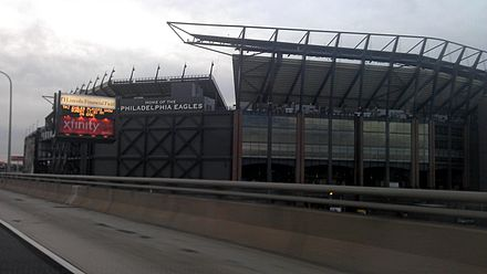 Lincoln Financial Field from I-95, before addition of solar panels to exterior. TheLinc-outside.jpg