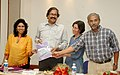 The Action Aids International launched a Report on Tsunami Affected Women in SAARC countries 'Violence Against Women' in the post-tsunami context, in New Delhi on March 28, 2007.jpg