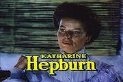 Hepburn in The African Queen