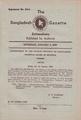 The Bangladesh Gazette, Extraordinary, January 3, 1985.pdf