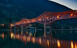 Kootenays Region of British Columbia in Canada