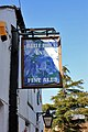 The Blue Bell - flower pub sign - geograph.org.uk - 1209963.jpg