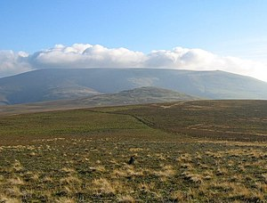Cheviot Hills - Image: The Cheviot geograph.org.uk 246415