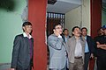 The Chief Minister of Sikkim, Shri Pawan Kumar Chamling accompanied by the Cabinet Ministers and other dignitaries visited the earthquake affected areas, at Tashiling on September 19, 2011 (1).jpg