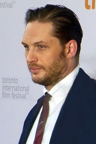Tom Hardy - Hardy at the premiere of The Drop, 2014 Toronto International Film Festival