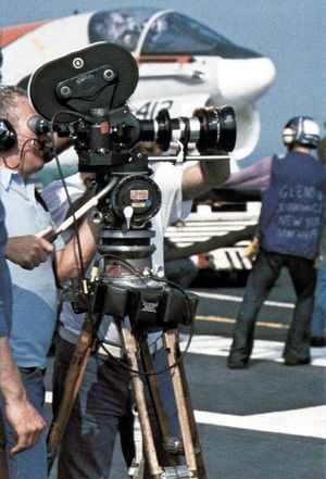 The Final Countdown (film) - Filming on the flight deck of the Nimitz.