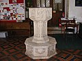 The Font of All Saints Great Glemham - geograph.org.uk - 1429357.jpg