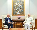 The Founder and Executive Chairman of the World Economic Forum, Professor Klaus Schwab calls on the Prime Minister, Shri Narendra Modi, in New Delhi on June 22, 2017 (1).jpg