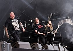 The Haunted Live  auf dem Rockharz 2015