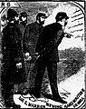 The Illustrated Police News - 20 October 1888 - Sir Charles Warren viewing handwriting on wall.jpg