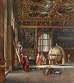 The Interior of the Sansovino Hall, the Marciana Library, Venice , 1855.jpg