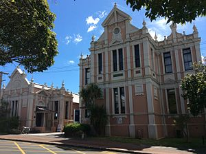 Leys Institute Library Ponsonby - Image: The Leys Institute