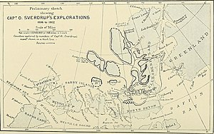 Otto Sverdrup - Sverdrup's explorations 1898-1902