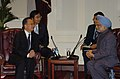 The Prime Minister, Dr. Manmohan Singh meeting with the Prime Minister of China, Mr. Wen Jiabao, during his visit to the United States, in New York on September 24, 2008 (1).jpg