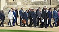 The Prime Minister, Shri Narendra Modi took part in the Leaders' Retreat, at the CHOGM 2018, at Windsor Castle, in London on April 20, 2018 (1).JPG