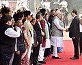 The Prime Minister, Shri Narendra Modi with the President of the Socialist Republic of Vietnam, Mr. Tran Dai Quang, at the Ceremonial Reception, at Rashtrapati Bhavan, in New Delhi on March 03, 2018.jpg