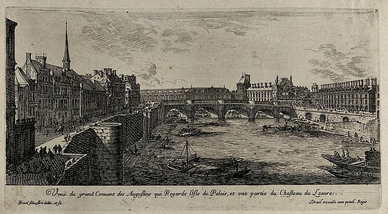 File The Seine With The Convent Of The Augustinians And A