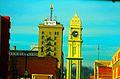 The Town Clock ^ American Trust ^ Savings Bank - panoramio.jpg