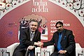The Union Minister for Commerce and Industry, Shri Anand Sharma with the EU Trade Commissioner, Mr. Karel de Gucht, on the sidelines of World Economic Forum Meeting, at Davos, in Switzerland on January 28, 2011.jpg