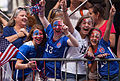 The United States Women's Soccer Team Ticker-Tape Parade New York City (19585112065).jpg