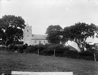 The church, Llannarth (Cered)