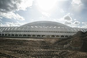 Florida Polytechnic University - The east side of the IST Building at Florida Polytechnic University on February 4th 2014