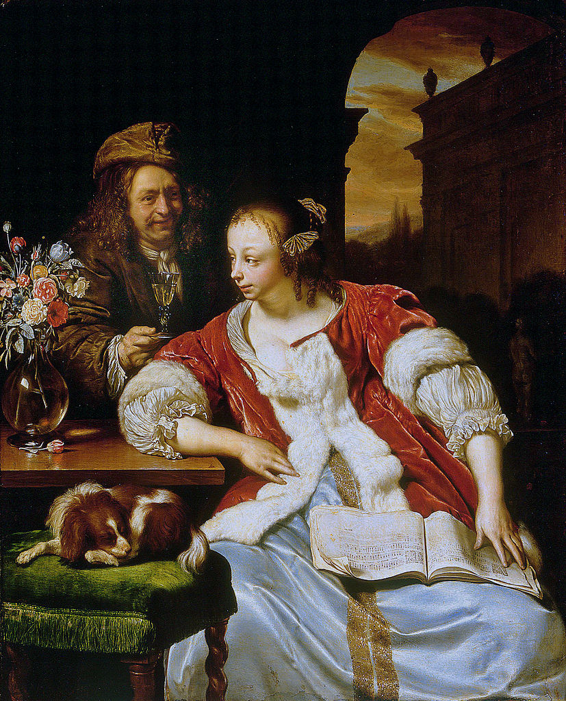 https://upload.wikimedia.org/wikipedia/commons/thumb/e/e4/The_interrupted_song%2C_by_Frans_van_Mieris_the_elder.jpg/827px-The_interrupted_song%2C_by_Frans_van_Mieris_the_elder.jpg