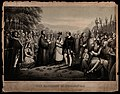 The marriage of Pocohontas to John Rolfe Wellcome V0050148.jpg