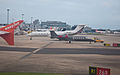 The ramp at Gatwick, Sept. 2011 - Flickr - PhillipC.jpg