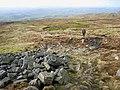The way down Cross Fell - geograph.org.uk - 664583.jpg
