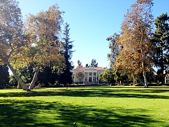 Pomona College - Marston Quadrangle forms the center of Pomona's campus.
