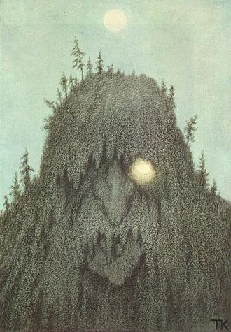 "Clifford A. Pickover -  Forest troll. (Theodor Kittelsen, 1906). Some of Pickover's later books often discussed ""science at the edges,"" including such topics as parallel universes, quantum immortality, alien life, and elf-like beings seen by some people who use dimethyltryptamine."